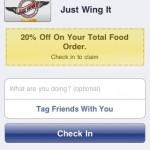 Just Wing it Facebook Deals